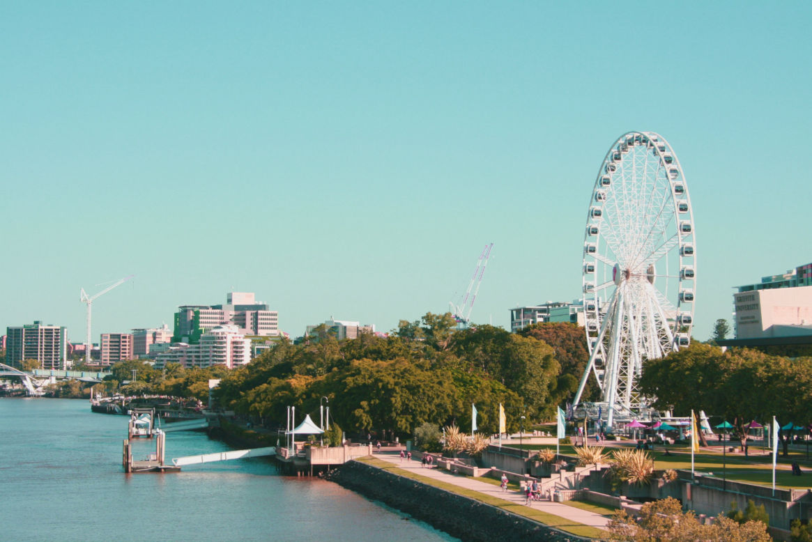 Brisbane Debt Solutions and Debt Consolidation - Brisbane River and ferris wheel