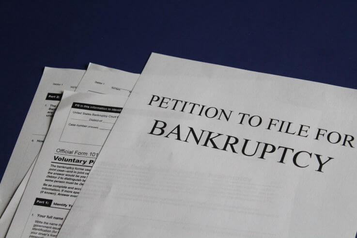 How does bankruptcy work - Petition to file for bankruptcy papers