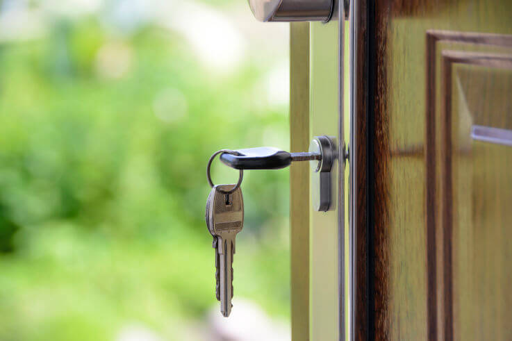 What are the effects of bankruptcy - Keys in door