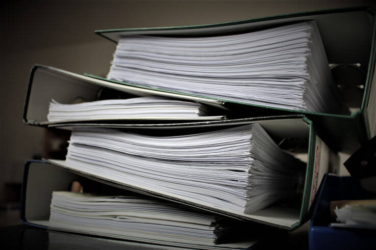 What's debt consolidation - Binders piling up